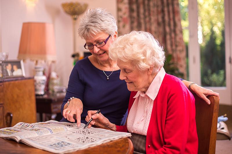 Client carer crossword puzzle