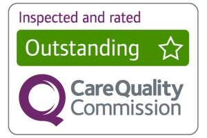 care quality commission rated outstanding